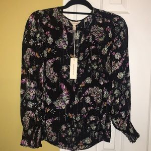 New Rebecca Taylor Jewel Pasley Top